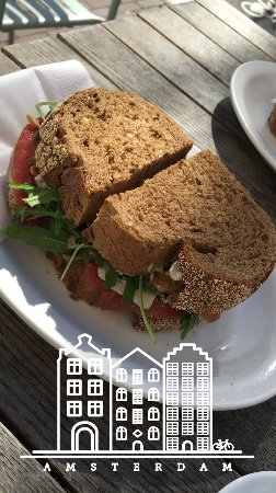 Photo of Sandwich Place Homemade - Fresh Food & Drinks at Singel 447, Amsterdam 1012 WP, Netherlands