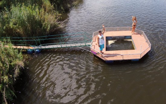 Mama Out of Africa: Crocodile Plunge Pool