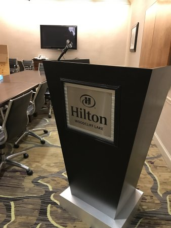 Woodcliff Lake, NJ: Meeting Room Podium