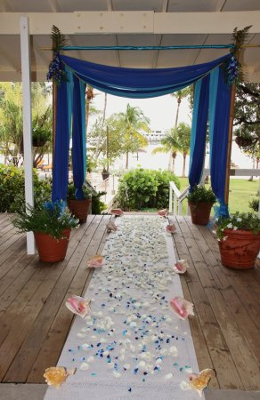 Marsh Harbour, Great Abaco Island: Wedding  Venue Terrace