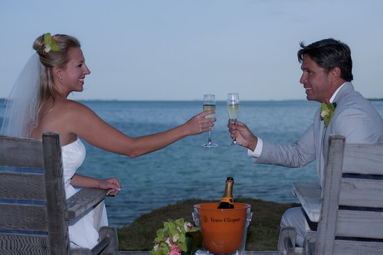 Marsh Harbour, Great Abaco Island: Couple Wedding