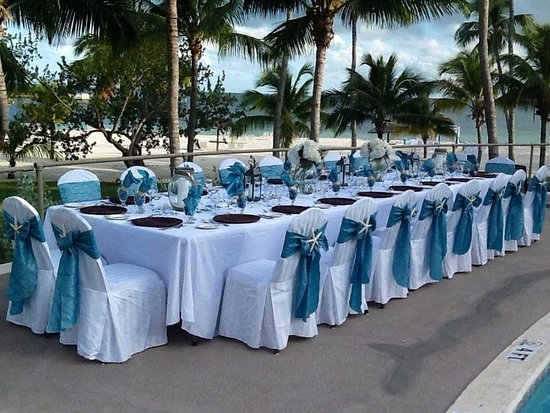 ‪‪Marsh Harbour‬, ‪Great Abaco Island‬: Wedding Receiption - pool‬