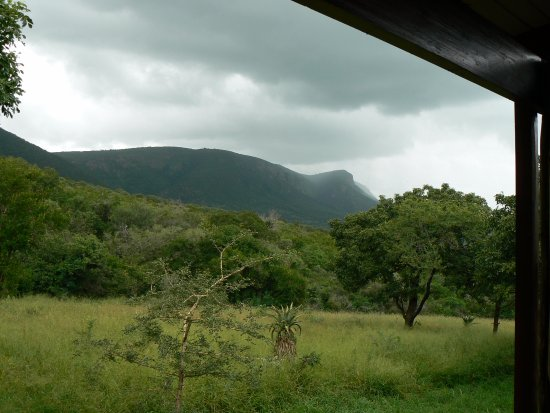 Lavumisa, Swaziland: View from the deck of the mountain