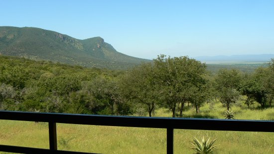 Lavumisa, Swaziland: View from deck