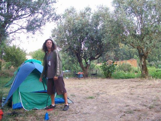 Camping Redondo: Montaggio della tenda