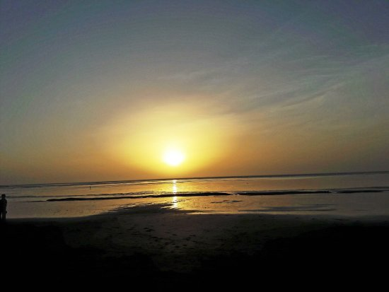 Dahanu, Indie: Beautiful Sunset at the Beach