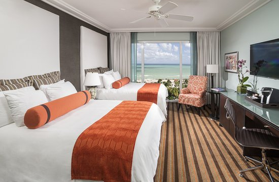 The Palms Hotel & Spa: Oceanfront Double