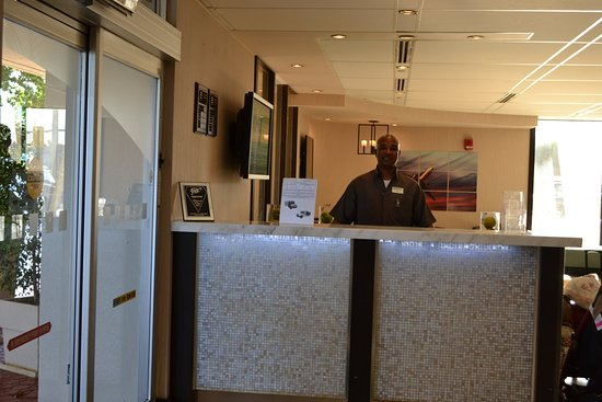 Miami Springs, FL: Our superb staff waiting to welcome you!
