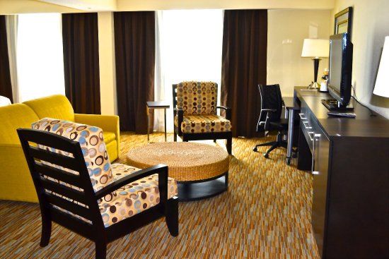 Майами-Спрингс, Флорида: Suite Guest Room