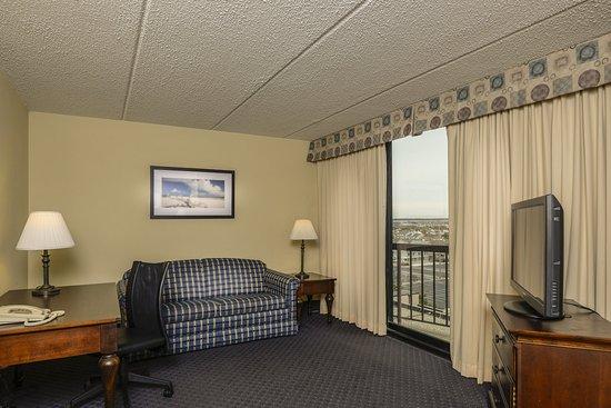 Clarion Resort Fontainebleau Hotel: Studio Sitting Area