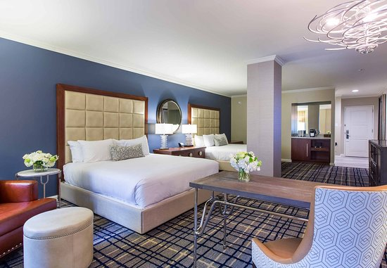 The Adolphus: Deluxe King/King Guest Room
