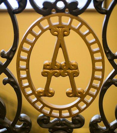 "The Adolphus: ""A"" Iron Work"