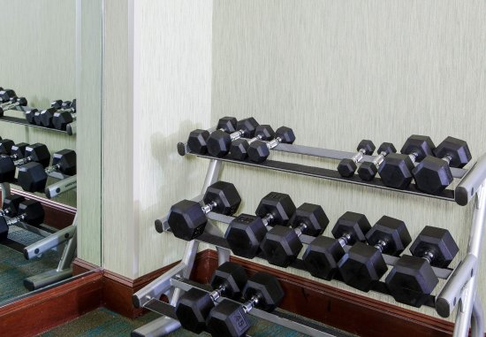 SpringHill Suites Norfolk Virginia Beach: Fitness Center   Free Weights