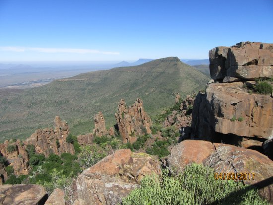 Eastern Cape, Sudáfrica: Valley of Desolation