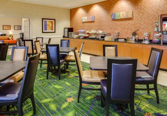 Manhattan, KS: Breakfast Dining Area