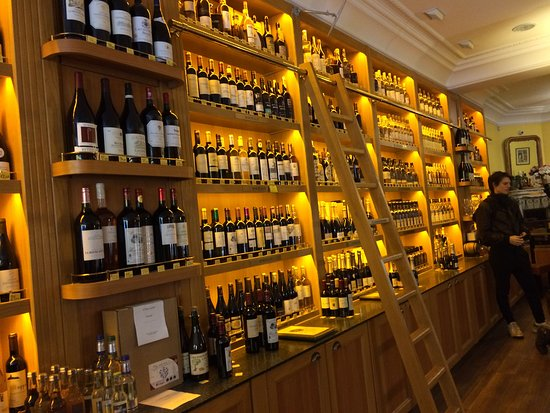 Paris by Mouth Food Tours: the tour ended in this lovely wine store