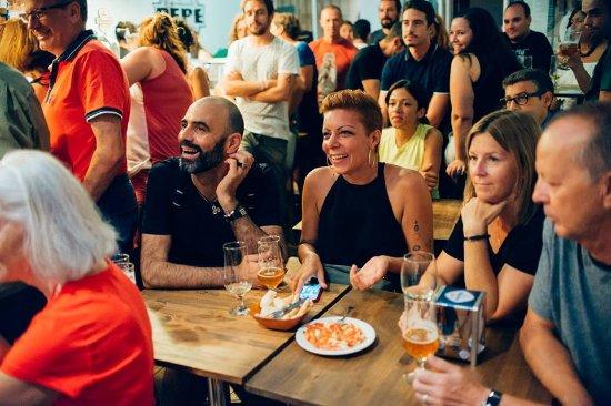 Province of Malaga, Spain: Gente guapa en el Pepe