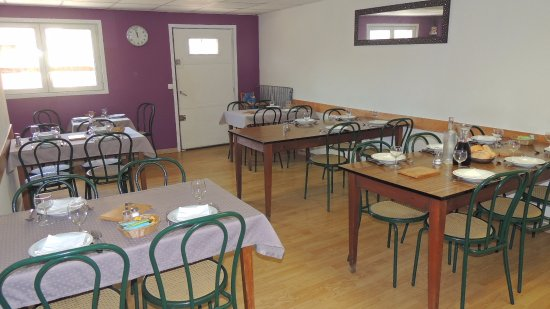 Masseube, Francia: salle du fond