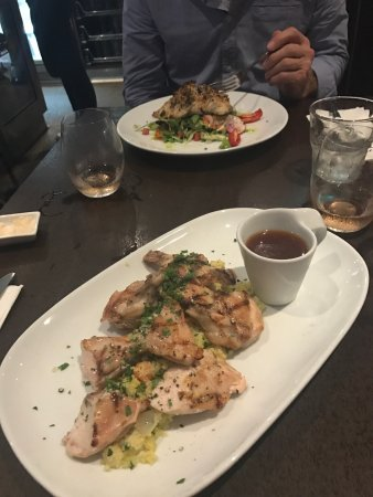Coogee, Australia: A delicious Spachcock dish and a delightful Baramundi