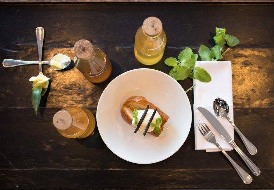 La Defense, France: Rum Baba Dessert