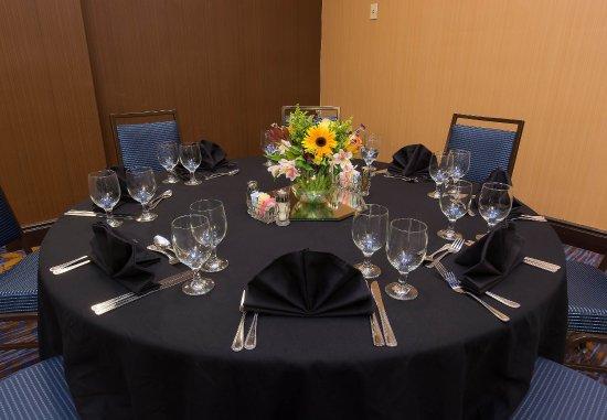 Courtyard Columbia Downtown at USC: Capital Ballroom   Banquet Setup