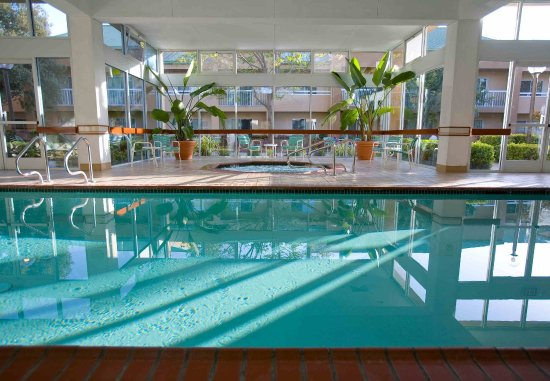 Foster City, Californië: Indoor Pool & Whirlpool