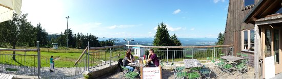 Bischofsmais, Alemanha: Fantastic views & good beer!
