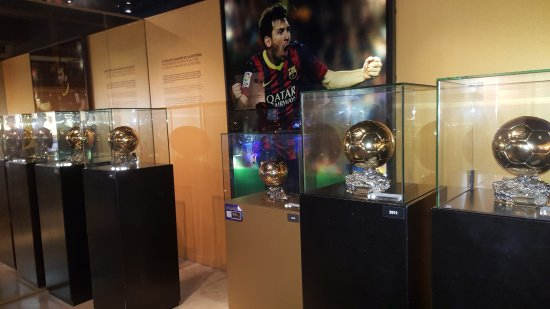 Photo of Tourist Attraction Museu del Futbol Club Barcelona at Camp Nou, Av Aristides Maillol, Barcelona 08028, Spain