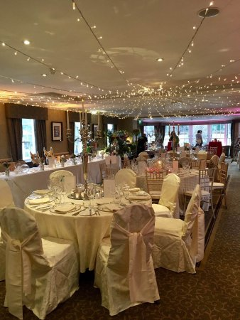 Function Suite Set Up For A Wedding Picture Of Banchory Lodge
