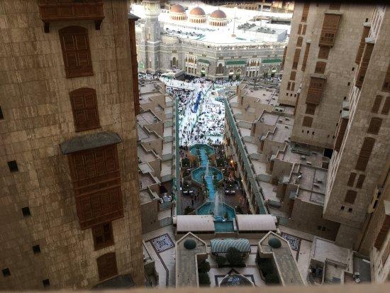 Makkah Hilton Hotel: hotel view