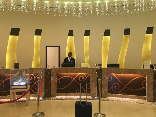 Makkah Hilton Hotel: Reception