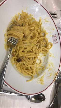 Photo of Italian Restaurant Felice at Via Mastro Giorgio 29, Rome 00153, Italy