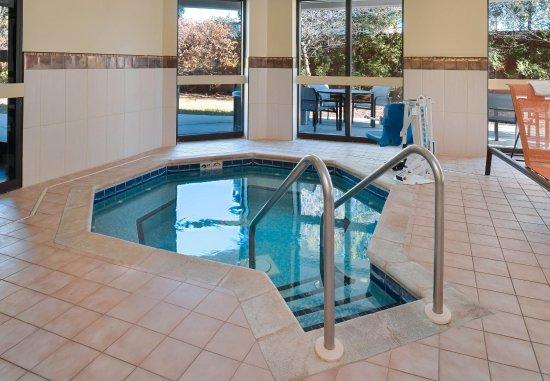 Brown Deer, วิสคอนซิน: Indoor Hot Tub