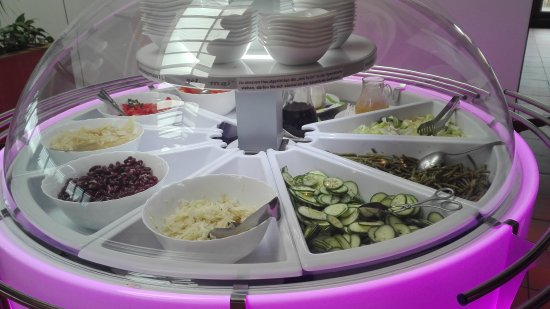 Fuerth, Germany: Salatbuffet