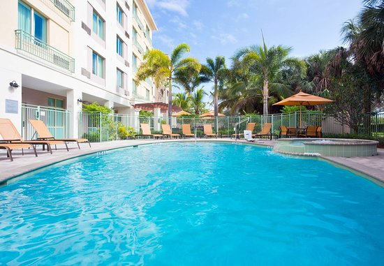 Courtyard Fort Lauderdale SW/Miramar: Outdoor Pool