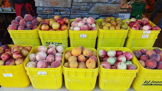 Cromwell, Nieuw-Zeeland: Fruits sold per bucket section