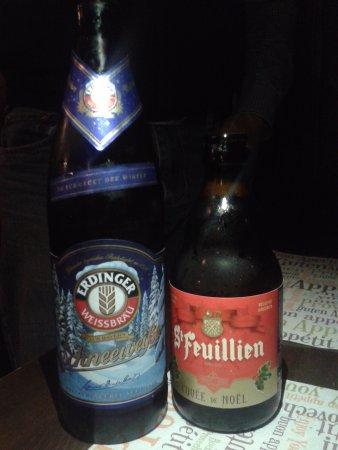 Pedara, Italia: Due birre Ediz.natalizia