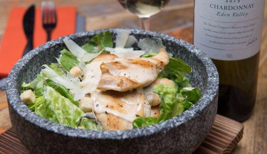 Henley in Arden, UK: STONEAGED salads