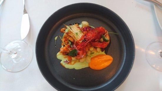 One-O-One Restaurant: Cuttlefish and prawn