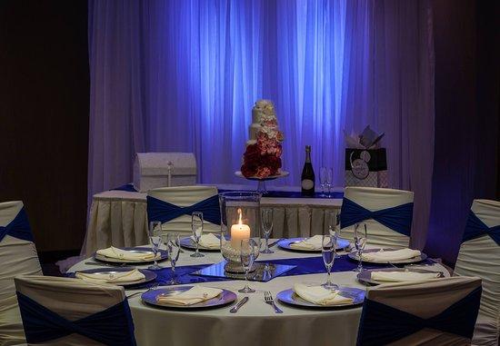 Richland, WA: Riverview Hall - Reception Setup