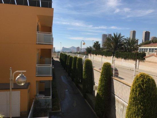 Terralta Apartamentos Turisticos: View towards Finestrat