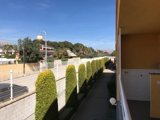 Terralta Apartamentos Turisticos: View inland