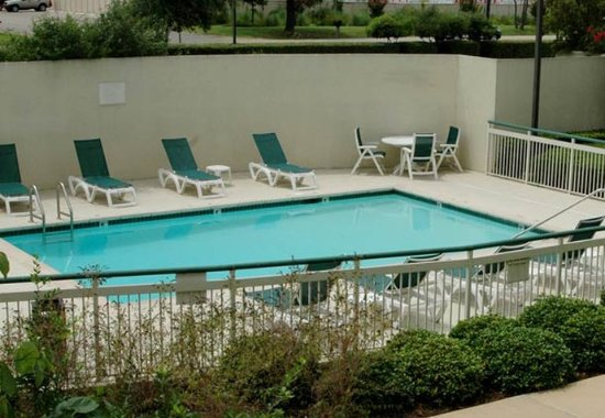 Round Rock, Τέξας: Outdoor Pool & Gazebo