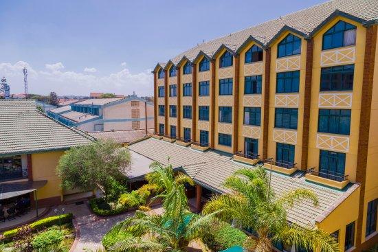 Boma Inn Nairobi: Aerial View