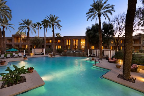 DoubleTree Resort by Hilton Paradise Valley - Scottsdale: South Outdoor Pool Area
