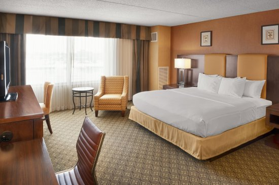 Bay City, MI: One King Bed - River View