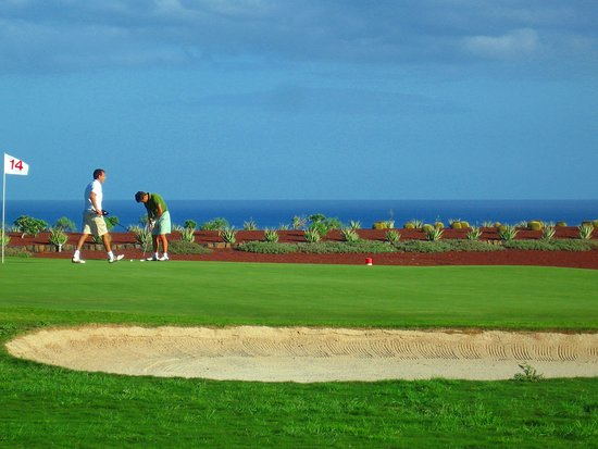 Lanzarote Golf Resort : Green Hole 14