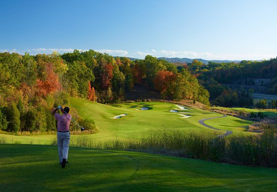 Kingsport, TN: Cattails Golf Course - Hole 13
