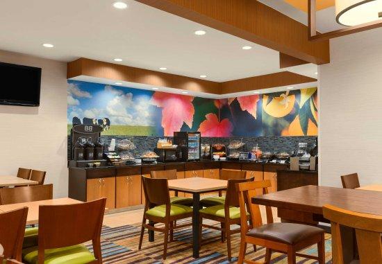 Racine, Висконсин: Breakfast Area