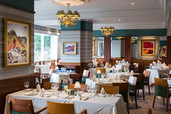 Borrowdale, UK: Lake View Restaurant at the Lodore Falls Hotel
